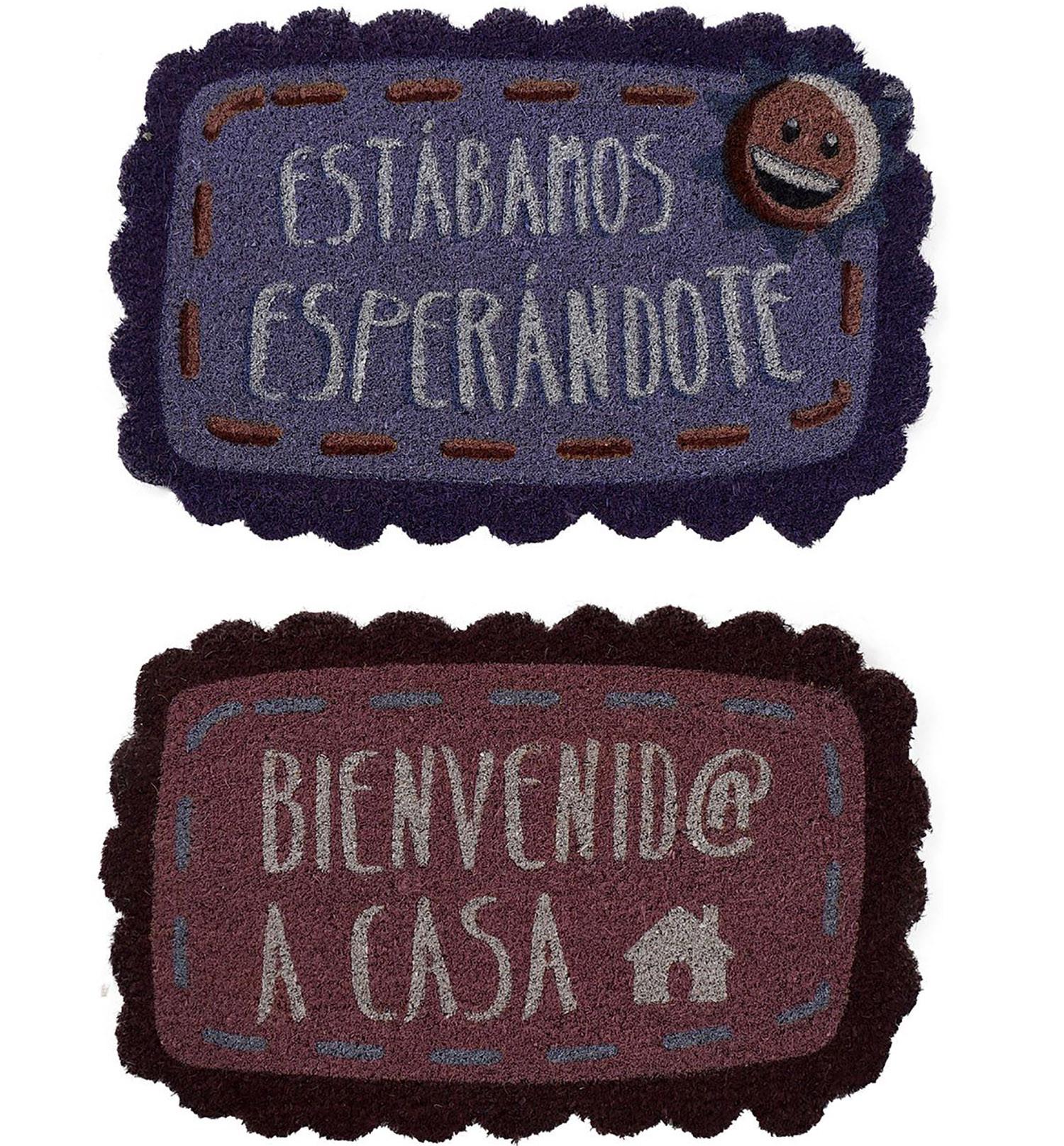 FELPUDO FIBRA COCO NATURAL 60X33X3 CM