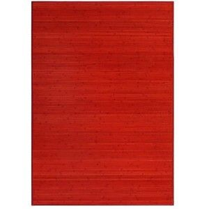 Carpet Pasillera, Bedroom or Lounge-Wood Natural Bamboo Red