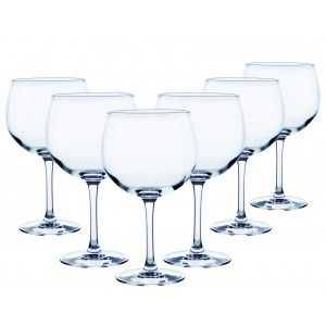 Cup Combined 70 Cl Glass, Gin and tonic, 12 You Crockery/Utensils Elegant, Basic Set of 12.