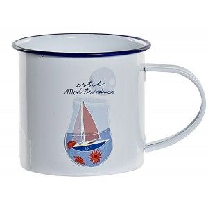 TAZA METAL MARINERA 360ML