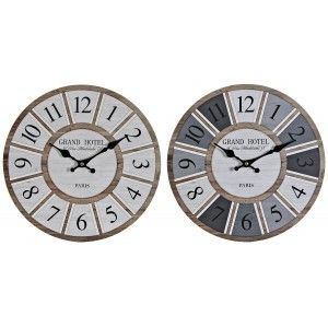 RELOJ PARED GRAND HOTEL 34CM