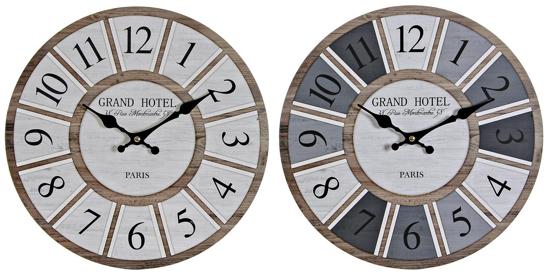 RELOJ PARED GRAND HOTEL 34CM