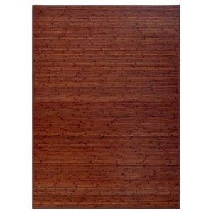 Alfombra de Bambú Natural, de color Madera, con Base Antideslizante, ideal para Salón/Comedor, de 180cm X 250cm - Hogar y Más