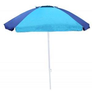 Umbrella, Beach, Blue,...