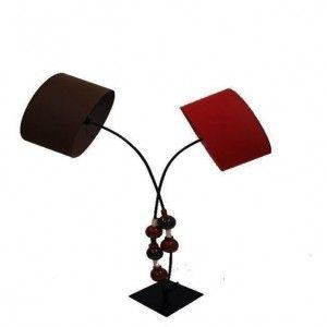 Lámpara de suelo bolas artesanal