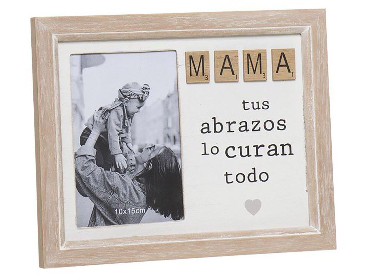 "PORTAFOTOS DE MADERA ""MAMÁ""..."