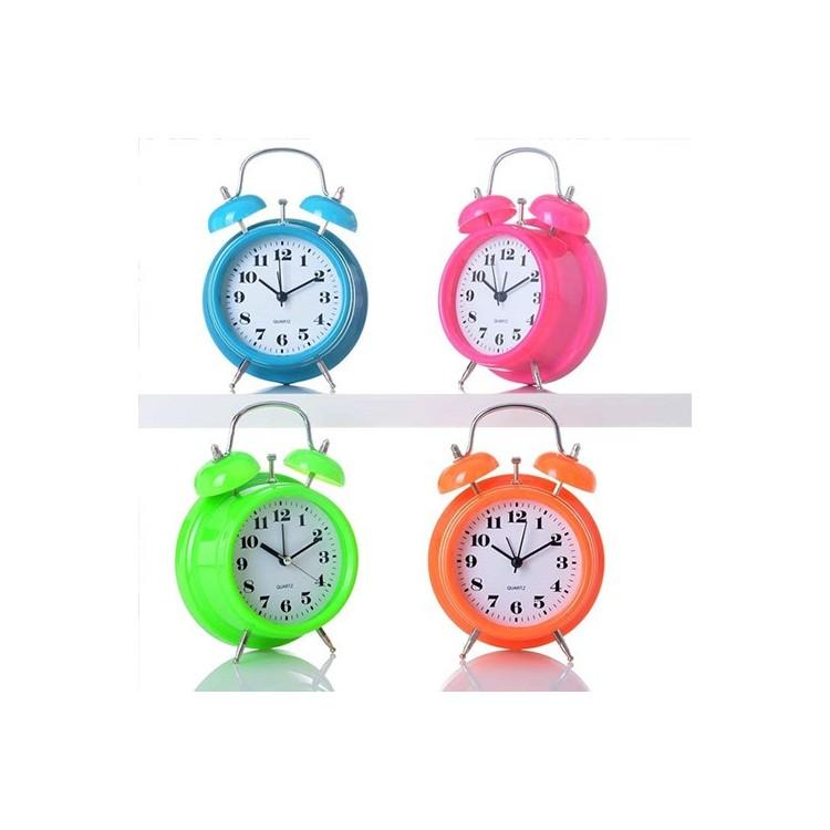 Reloj despertador colores (11.8x5.7x16.3)
