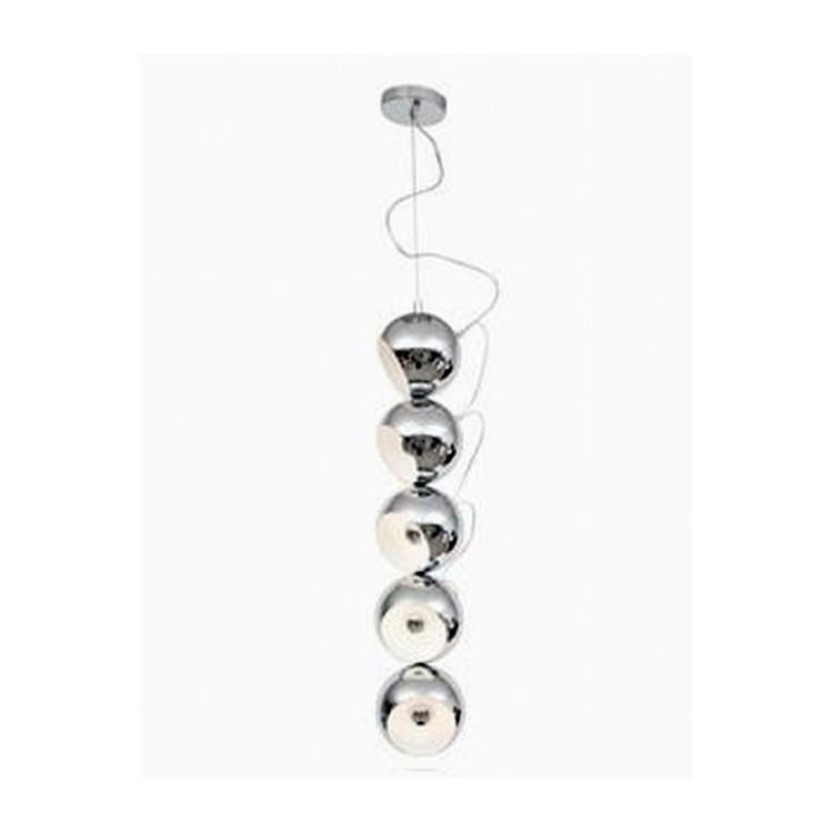 Lámpara de techo 5 globos