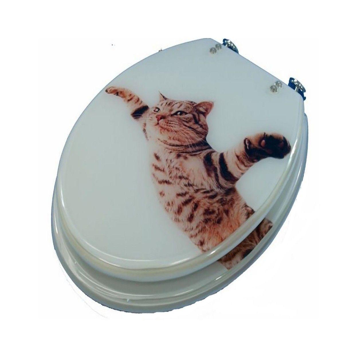 Tapa de inodoro gato hogar y m s - Tapas de inodoro ...
