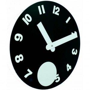 Reloj negro pendulo