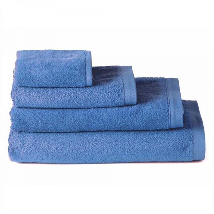 Toalla de ducha algodón azul (70x140)