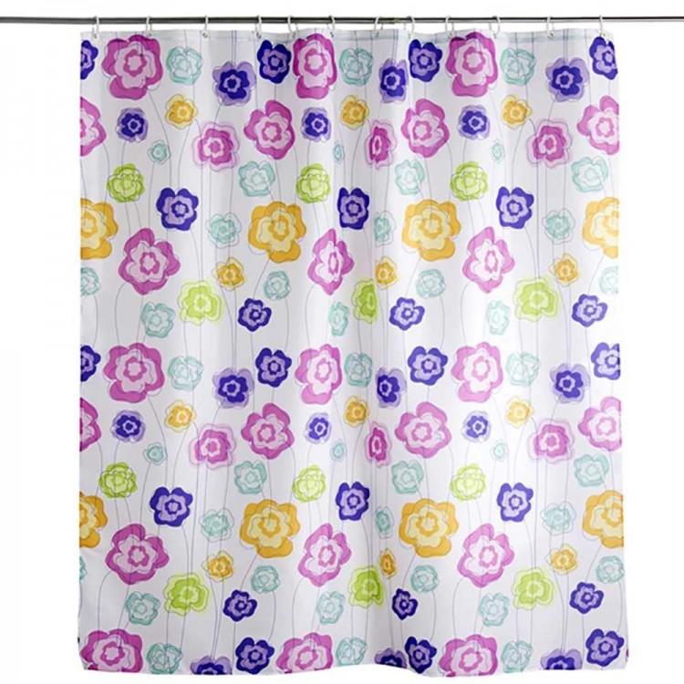 Cortina de baño Flower (180x200)