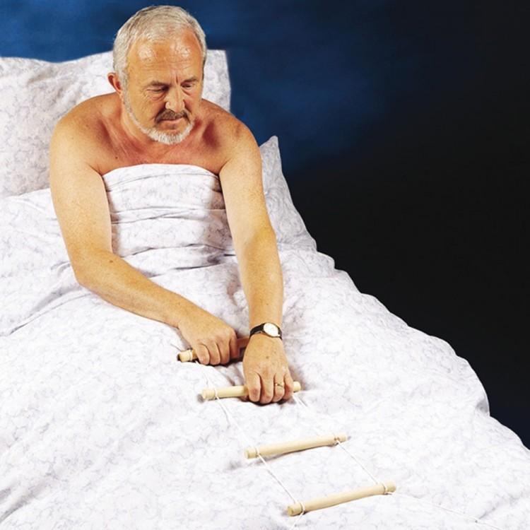 Escalerilla de ayuda para la cama