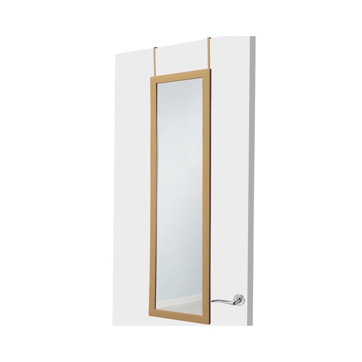 Espejo para puerta color madera sin agujeros hogar y m s - Puertas de espejo ...