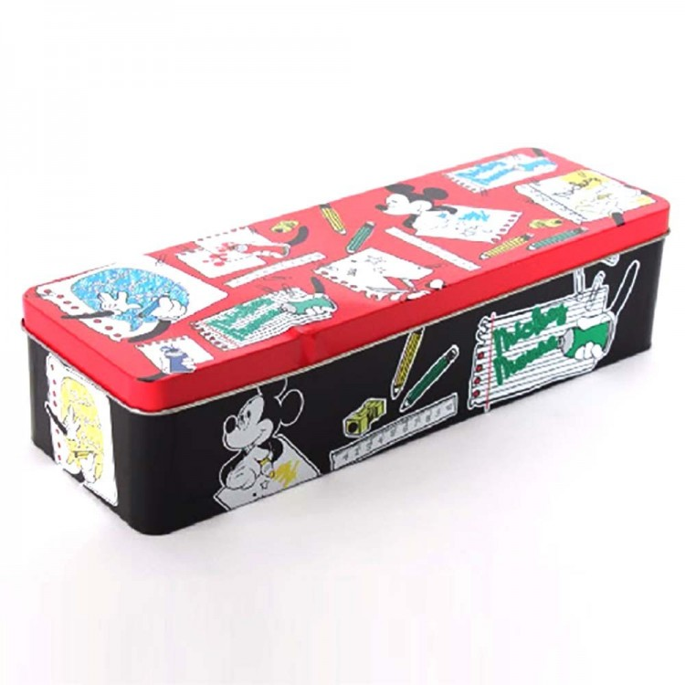 Caja metal para material escolar Mickey Mouse (30x10x7)