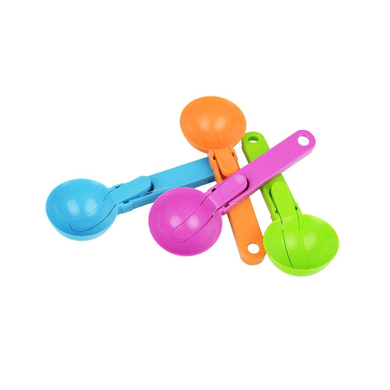 Cuchara para helado cuatro colores 19x6 5 hogar y m s - Cuchara para helado ...