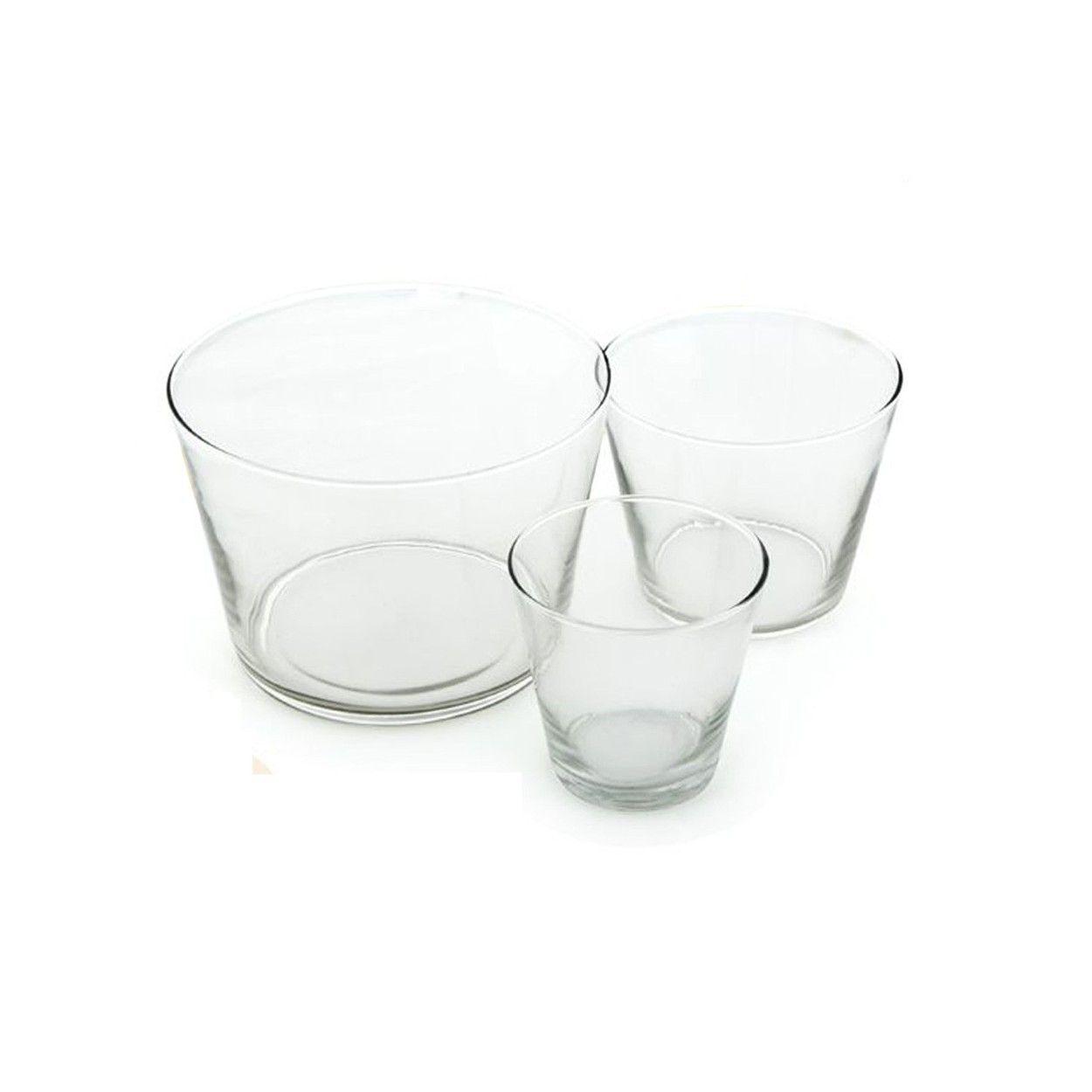 Vasos de cristal para decoraci n hogar y m s - Vasos grandes cristal ...