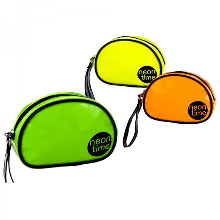 Neceser de mano con asa en color neon (21x6,5x14 cm) pvc