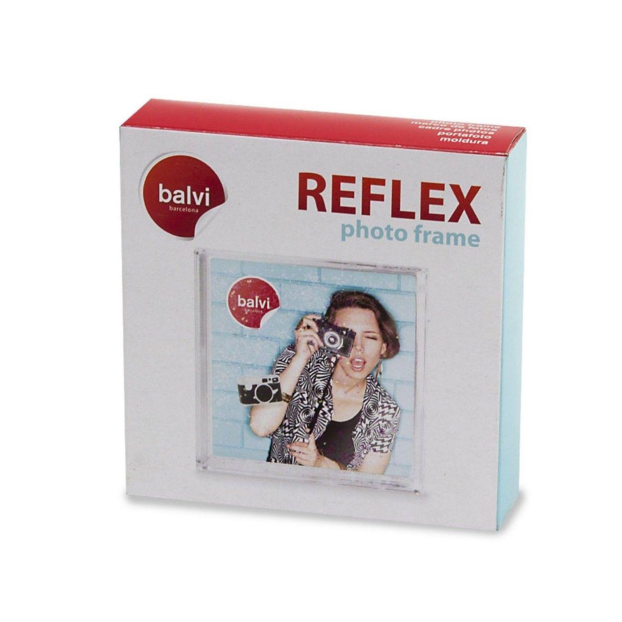 Marco Reflex 10x10 plástico - Hogar y más