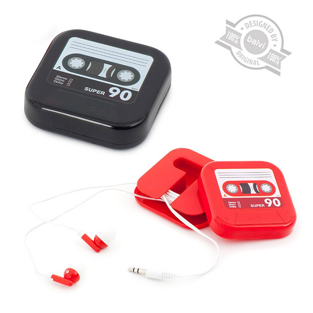 Auriculares Play Tape display. Dos modelos.