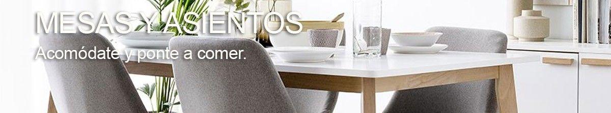 Mesas y Asientos